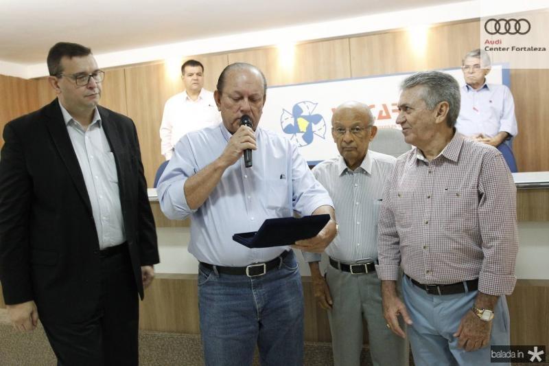 Marcos Viana, Rafael Leal, Argeu Monteiro e Clovis Nogueira