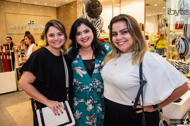 Karla Rodrigues, Viviane Almada e Renata Benevides