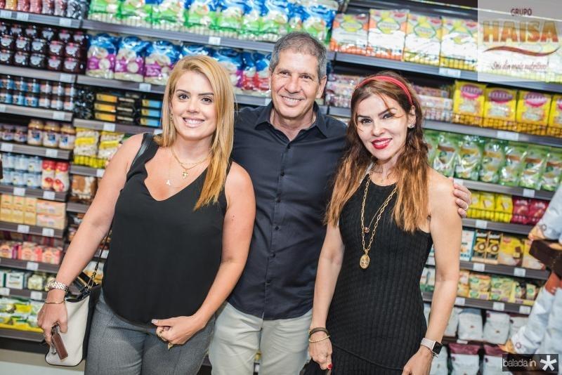 Leticia Studart, Severino Ramalho e Zilda Pessoa