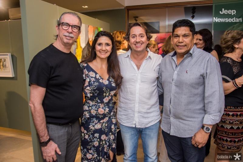 Eugenio vieira, Luciana Cidrao, Rodrigo Parente e Francisco bandeira