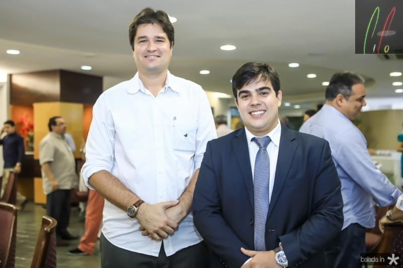 Fernando Laureano e Tiago Pinho