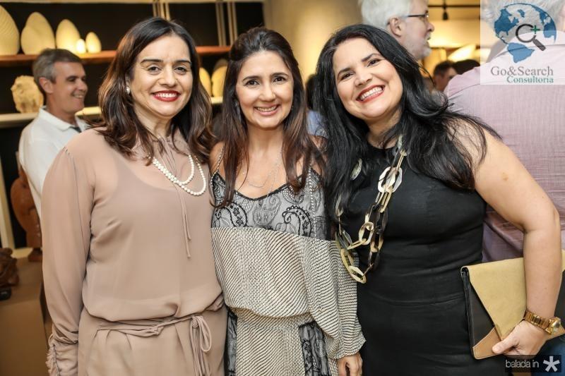 Lia Freire, Luciana Cidrao e Luciana Mota