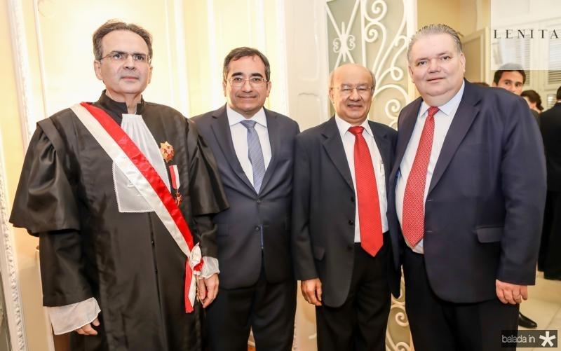 Emanoel Furtado, Jardson Cruz, Jose Pimentel e Jorge Medeiros