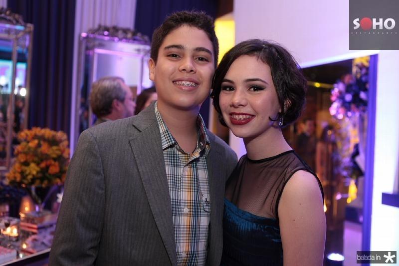 Nicolas Soares e Beatriz Soares