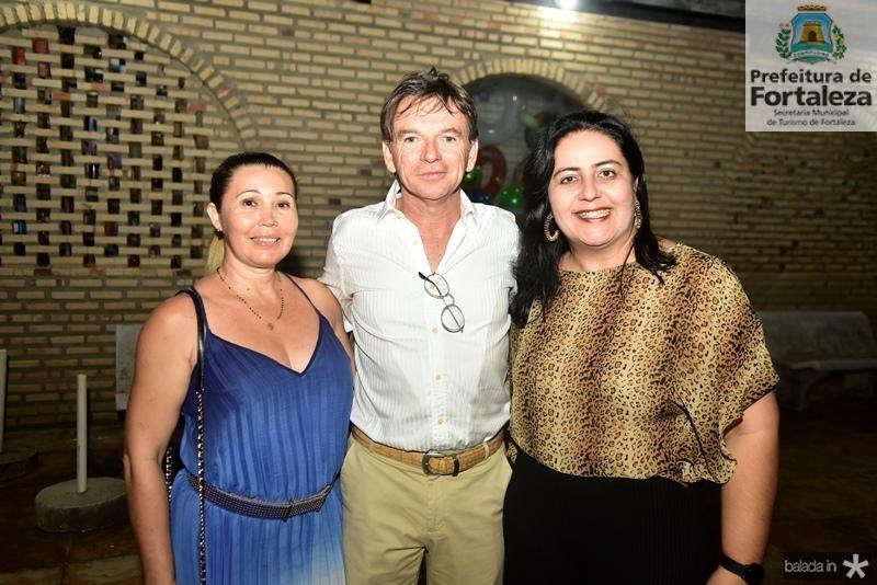 Geirla Costa, Kicco Risi, Indira Guimaraes