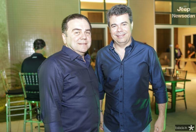Fernando Linhares e Duda Brigido