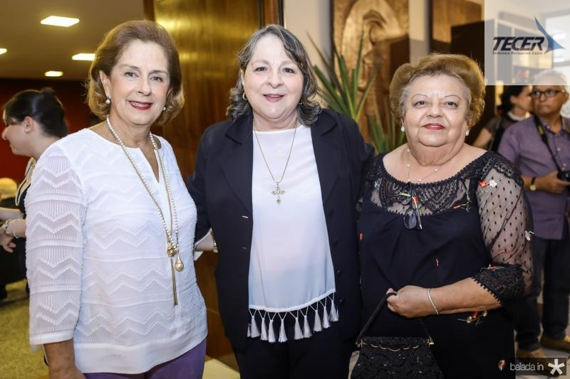 Tida Leal, Ciglinda Barroso e Marcia Gomes