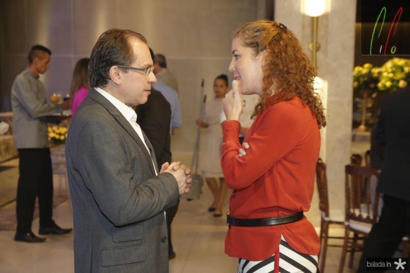 Carlos Matos e Ticiana Queiroz