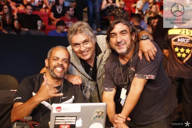 Wander Roberto, LC Moreira e Jarbas Oliveira