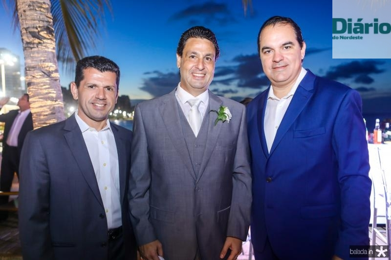 Erick Vasconcelos, Alexandre Rangel e Leo Albuquerque