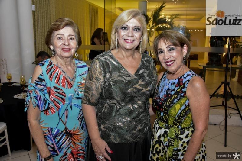 Maria do Carmo Bezerra, Priscila Cavalcanti e Nubia Martins