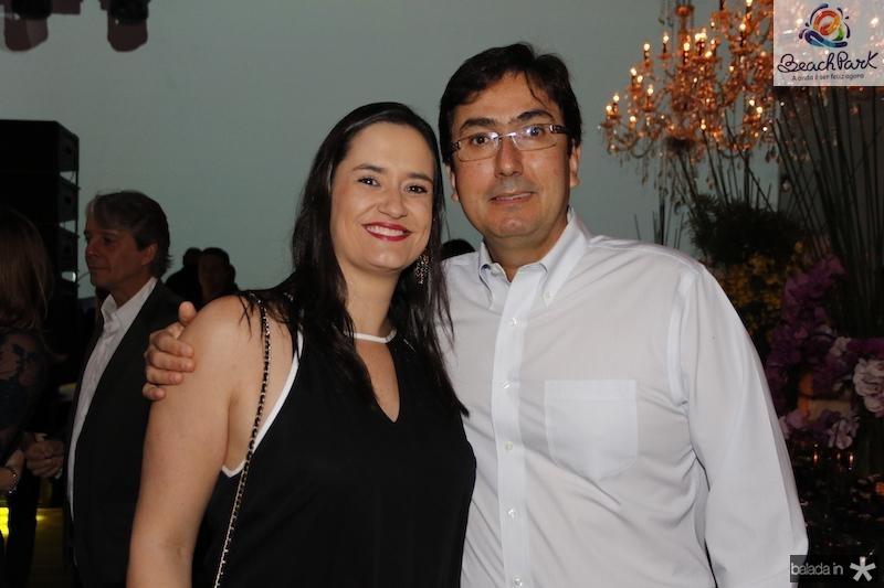 Janaina e Mario Queiroz Galvao