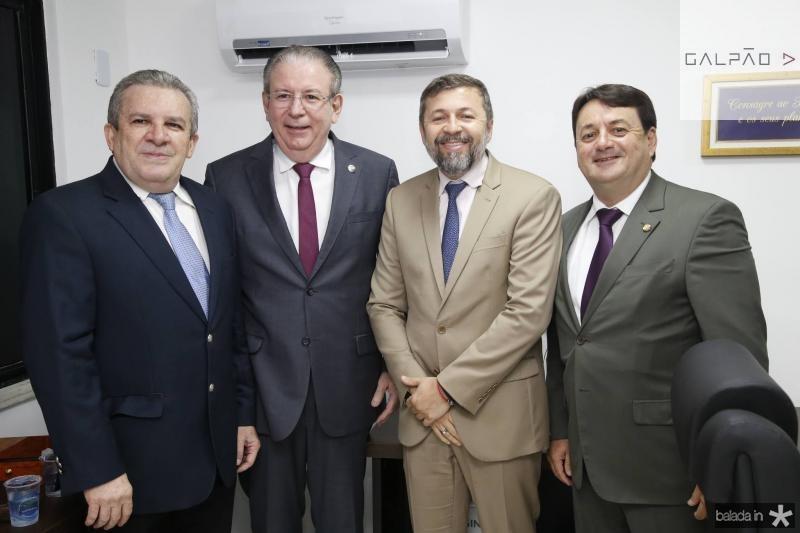 Jaime e Ricardo Cavalcante, Elcio Batista e Benigno Junior