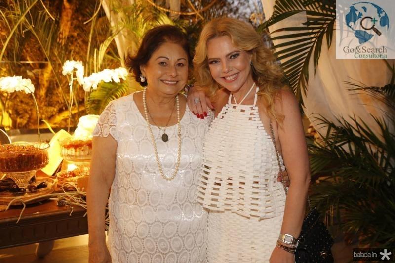 Auridea Guauberto e Branca Mourao