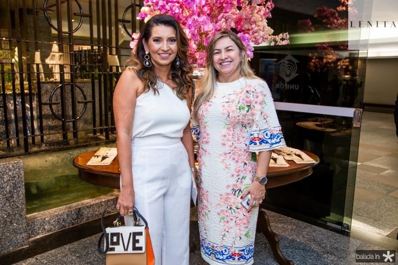 Márcia Travessoni e Ana Quezado