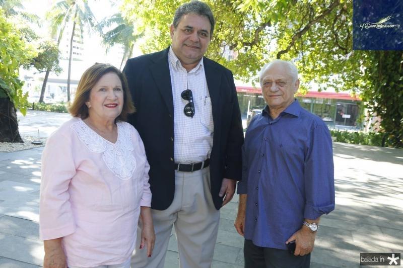 Socorro Abreu, Djalma Guerra e Jose Rangel