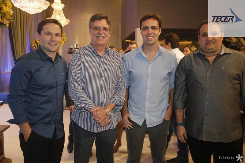Fabio Albuquerque, Carlos Gama, Gama Filho e Patriolino Dias
