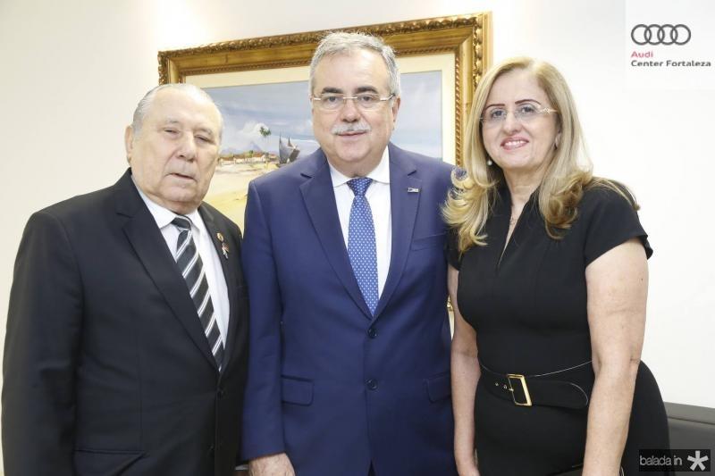 Idalmir Feitosa, Assis e Edna Cavalcante