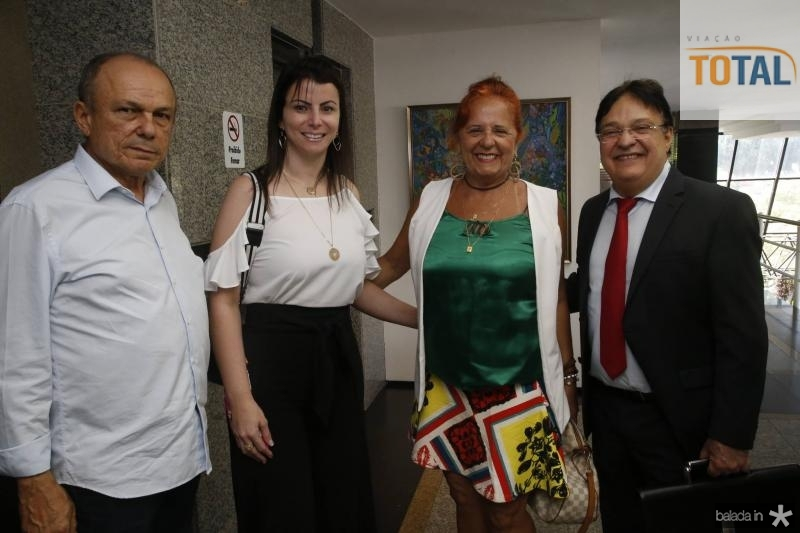 Honorio Pinheiro, Nicya Lessa, Fatima Duarte e Cleto Gomes