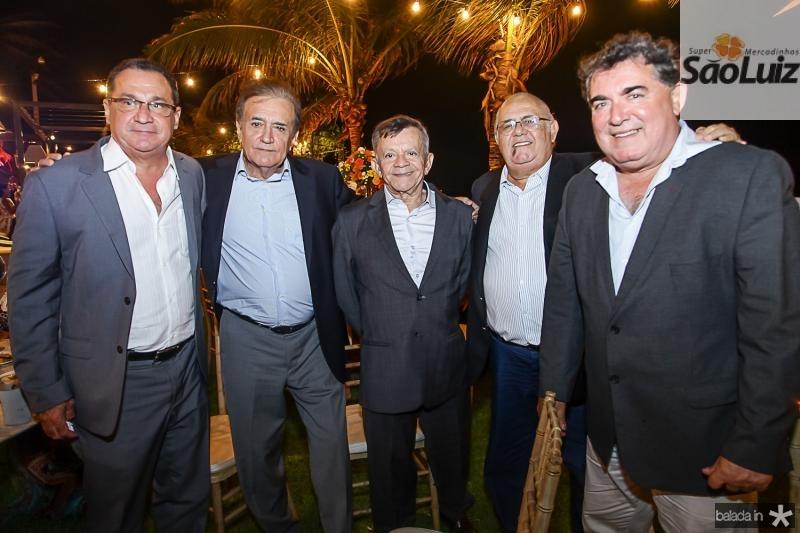 Veras, Assis Antero, Edilmo Cunha, Claudio Philomeno e Danilo Gurgel