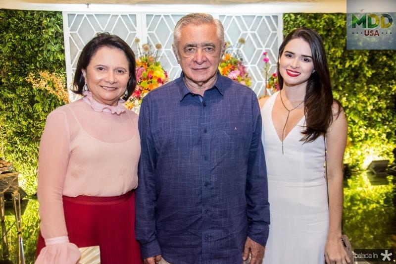 Regina Portela, Sergio Diniz e Barbara Portela