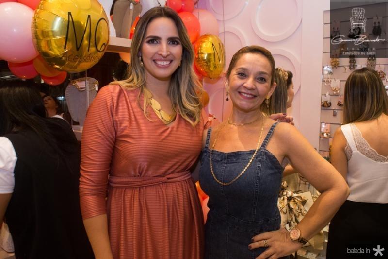 Mariana Queiroz e Livia Rodrigues