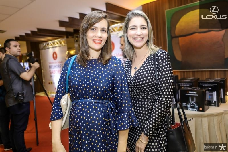 Cintia Sampaio e Leiliane Pinheiro
