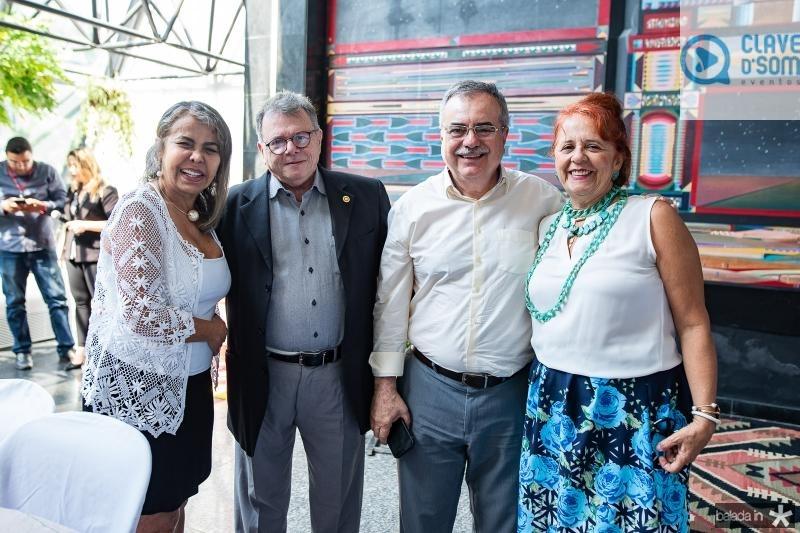 Selma Cabral, Juarez Leitao, Assis Cavalcante e Fatima Duarte