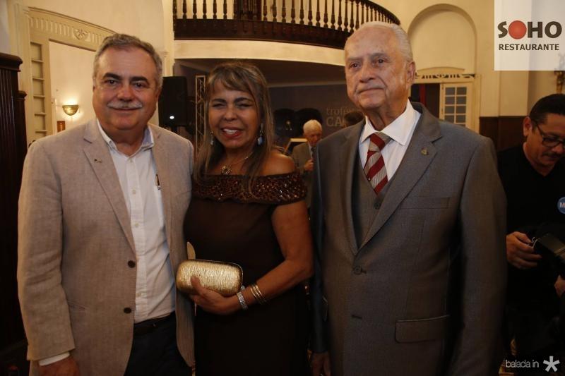 Assis Cavalcante, Selma Cabral e Paulo Barbosa