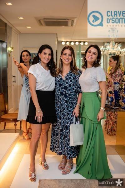 Aline Pinho, Ticiana Parente e Tatiana Machado