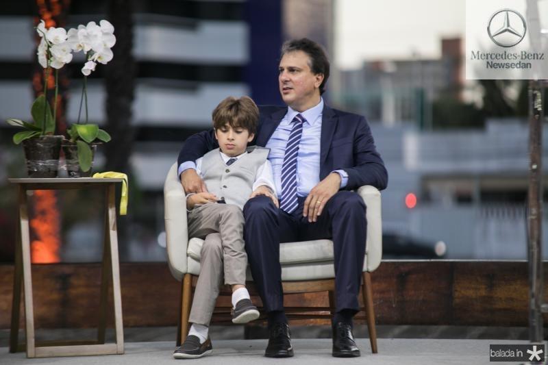 Pedrinho e Camilo Santana