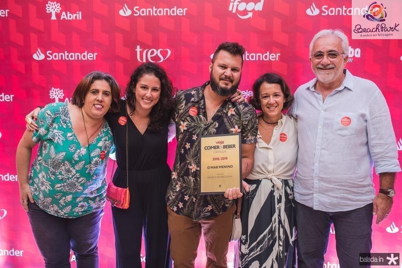 Vanessa Santos, Dora Coelho, Leo Goncalves, Patrica Rossas e Fernando Rossas