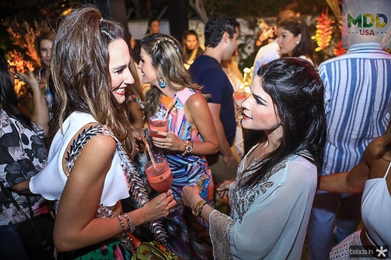Marcela Carvalho e Marilia Vasconcelos