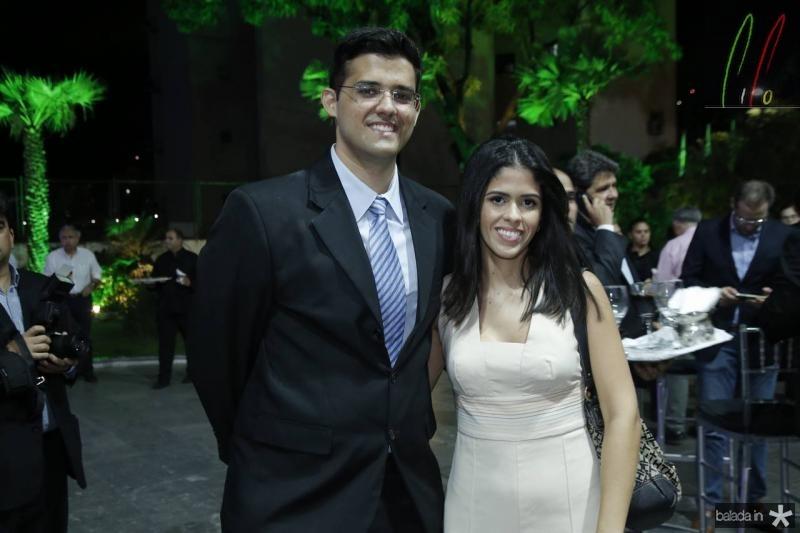 Leonardo Amaral e Sara Viana