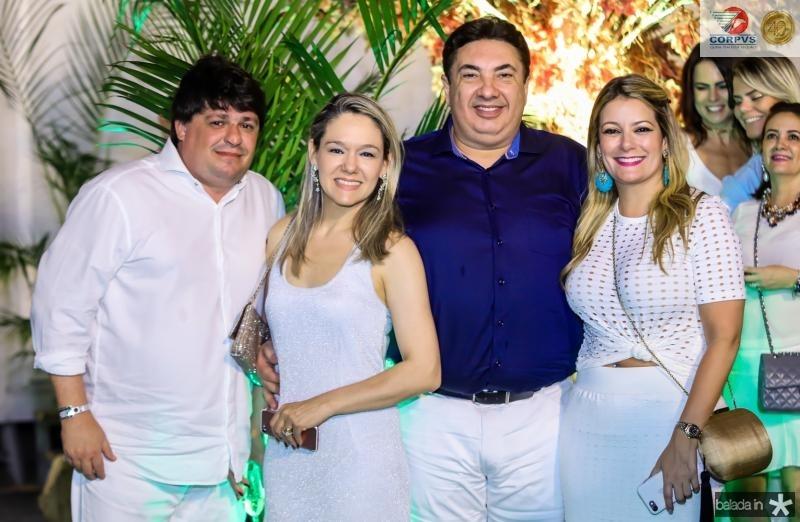 George e Erica Lima, Marcos Dias Branco e Tatiana Luna