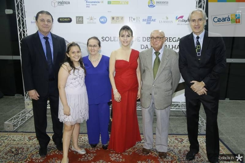 Eliseu Barros, Beatriz e Zenilde Matoso, Circe Jane, Jose Carlos Araujo e Marcos Pompeu