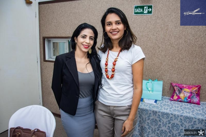 Tatiana Soares e Patricia Gomes