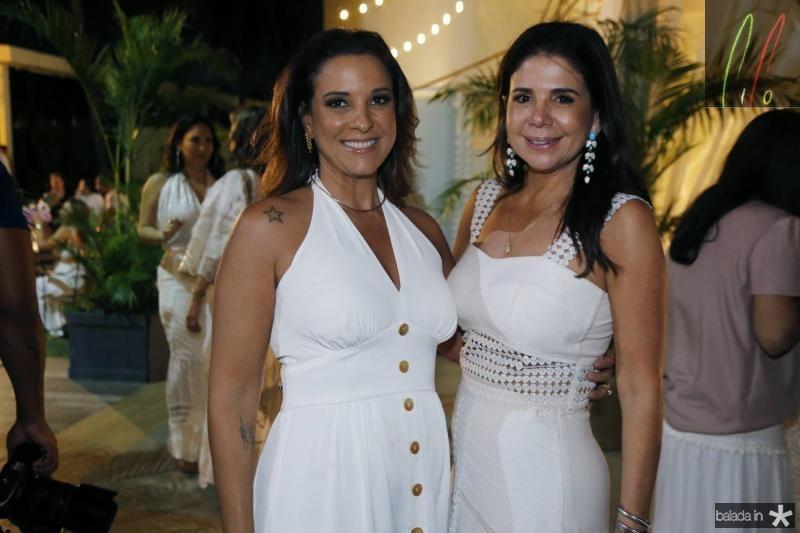 Lidia Oliveira e Maria Lucia Carapeba
