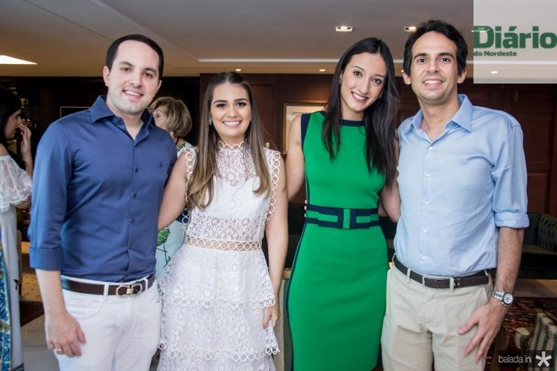 Tomas Moraes, Manuela Câmara, Talita Carneiro e Gaudencio Junior