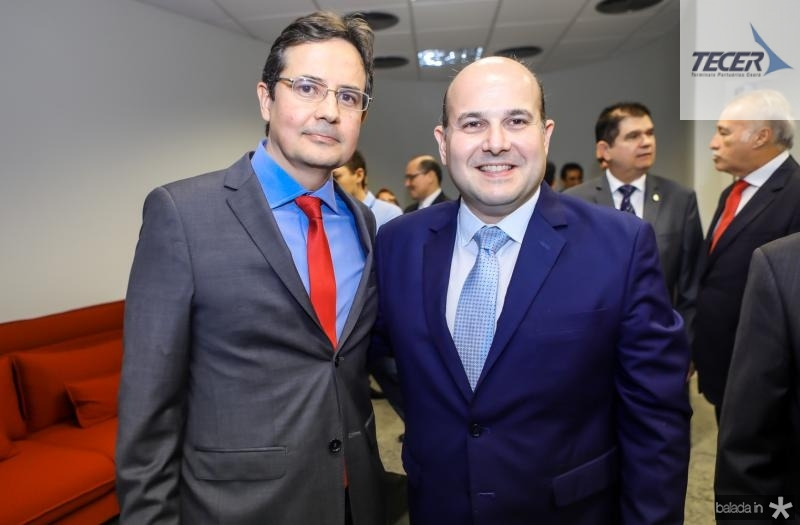 Edilberto Pontes e Roberto Claudio