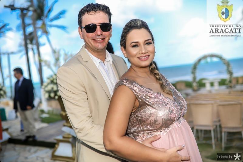 Guilherme Machado e Bruna França