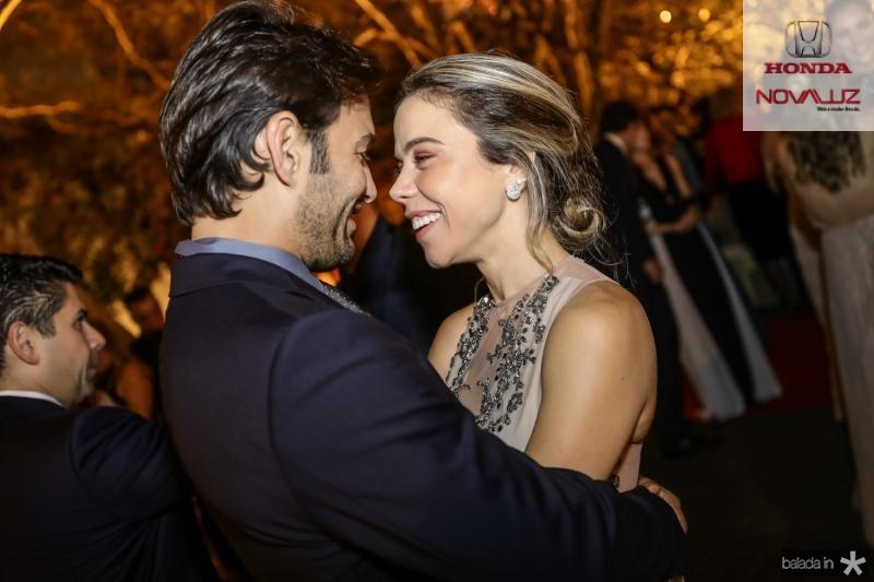 Claudio e Mirela Rocha