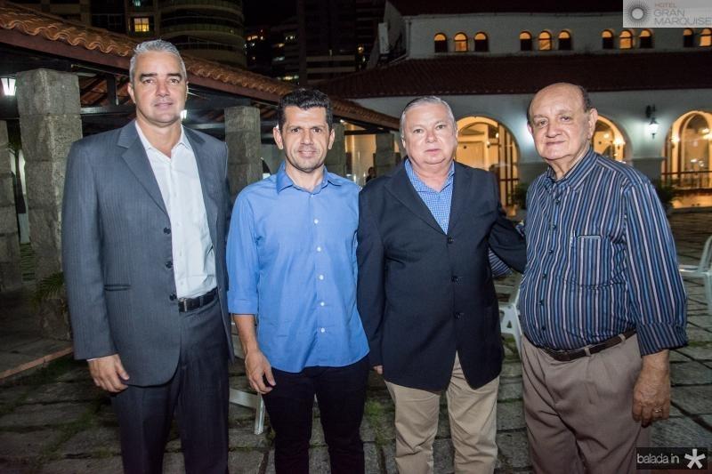Kall Aragao, Erick Vasconcelos, Alexandre Adolfo e Renato Bonfim