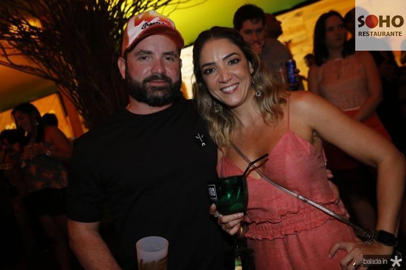 Julio Santos e Ana Carcia