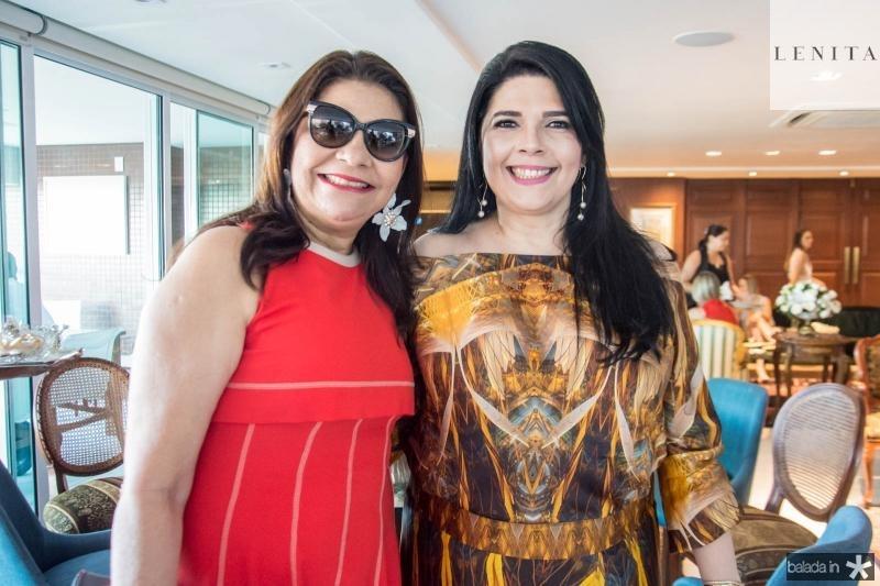 Celina Castro Alves e Sellene Câmara