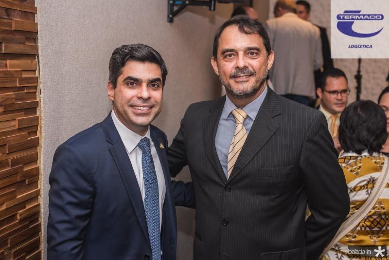 Queiroz Filho e Alberto Perdigao