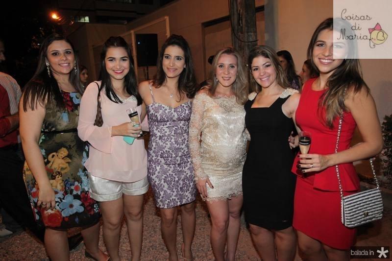 Ticiane Bezerra, Nayane do Vale, Camila Rodrigues, Olga Saraiva, Vanessa Queiroz e Aline do Vale