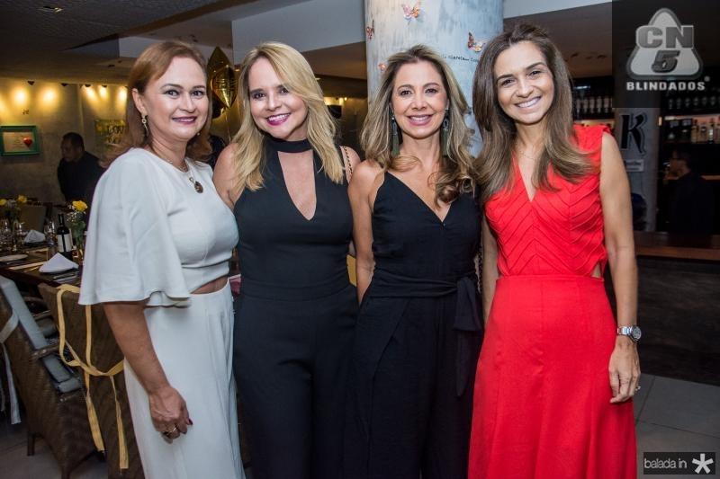 Valeska Rola, Ilda Pamplona, Sandra Machado e Cristina Brasil