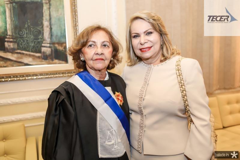 Maria Jose Girao e Iracema do Vale