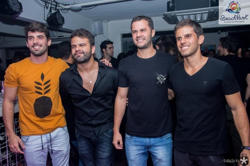 Boliva Gadelha, Andre Guerreiro, Otacilio Neto e Pedro Dias